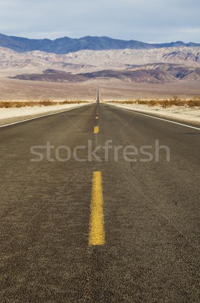 Stock photo: Desert Road