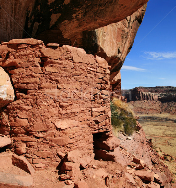 cliff dwelling Stock photo © pancaketom