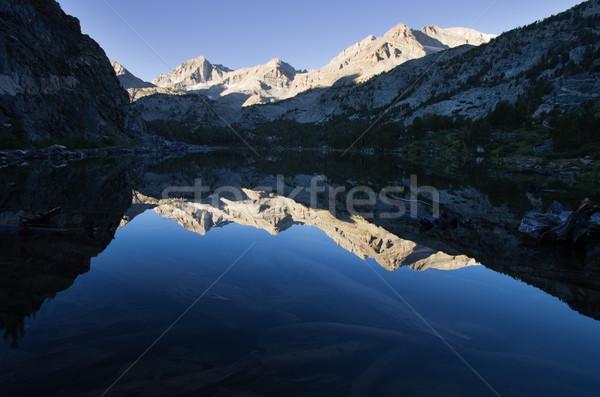 Mountain Lake Reflection Stock photo © pancaketom