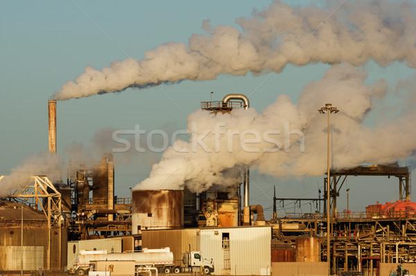 Geothermal Power Plant Stock photo © pancaketom