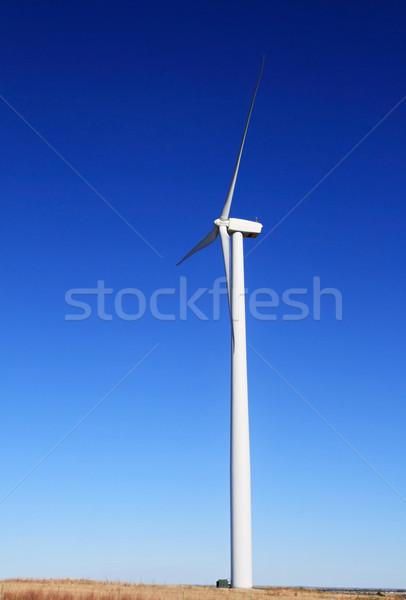 electric windmill Stock photo © pancaketom