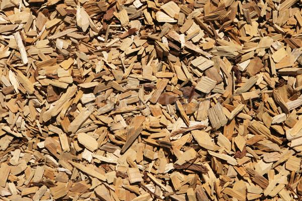 wood chip background Stock photo © pancaketom