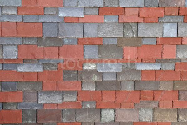 slate shingles Stock photo © pancaketom