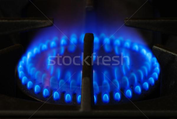 gas stove burner Stock photo © pancaketom