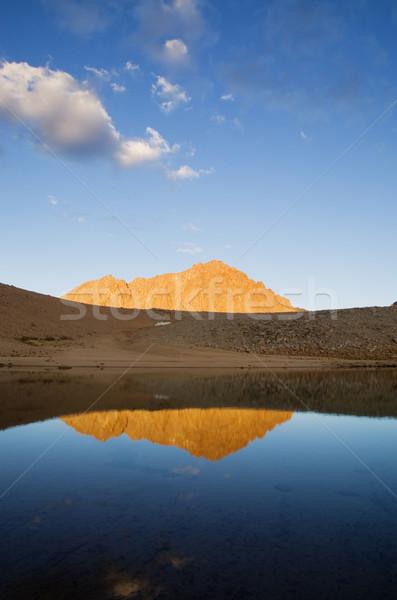 Mount Williamson Reflection Stock photo © pancaketom