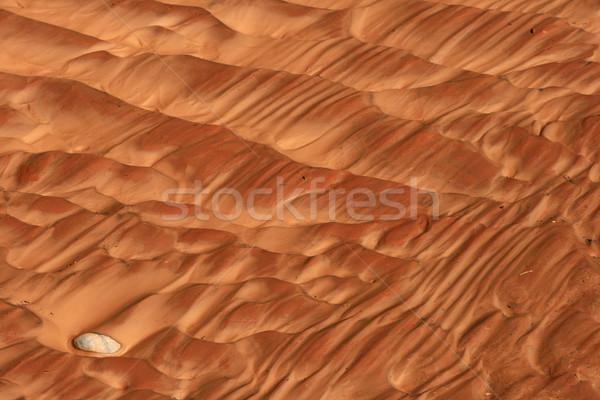 Stock photo: sand ripples