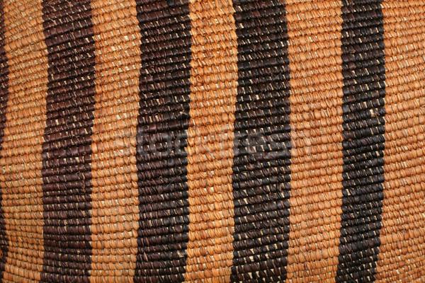 red African basket Stock photo © pancaketom