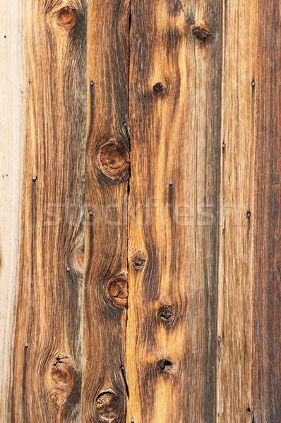 古い木材 古い建物 砂漠 木材 背景 爪 ストックフォト © pancaketom
