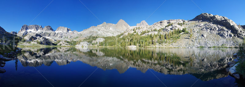 Ediza Lake Panorama Stock photo © pancaketom