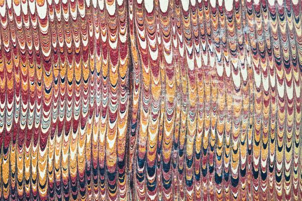 vintage marbled paper Stock photo © pancaketom