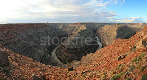 incised meanders Stock photo © pancaketom