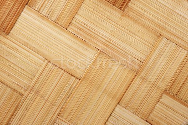 woven bamboo Stock photo © pancaketom