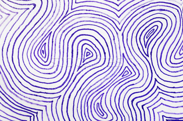 Concentric Purple Lines On Paper Stock photo © pancaketom