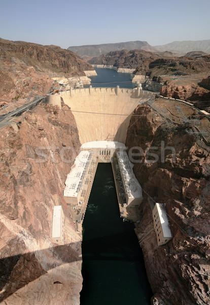 Hoover Dam Stock photo © pancaketom