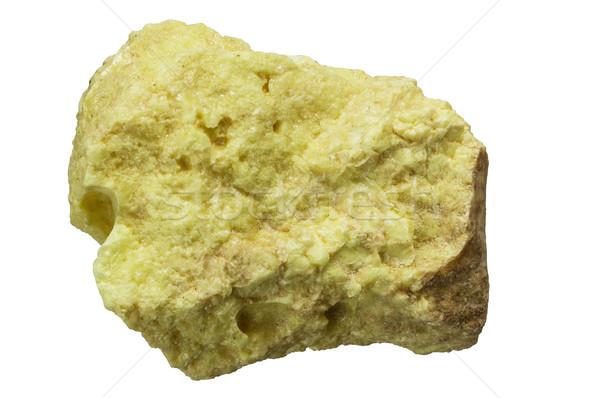 Elemental Sulfur Stock photo © pancaketom