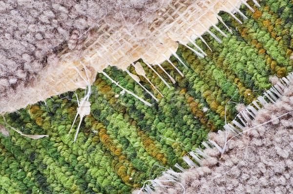 Stock photo: Old Carpet Detail