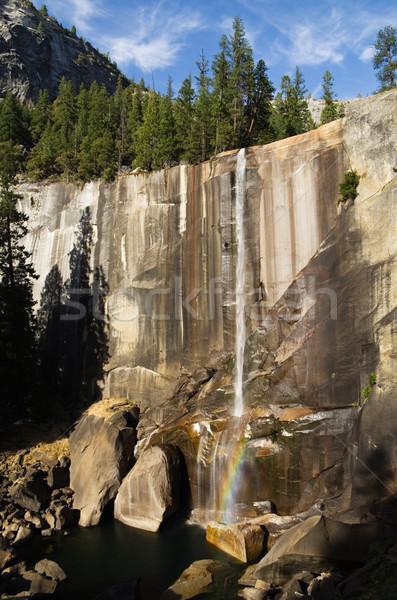 秋 ヨセミテ 低い 水 滝 ストックフォト © pancaketom
