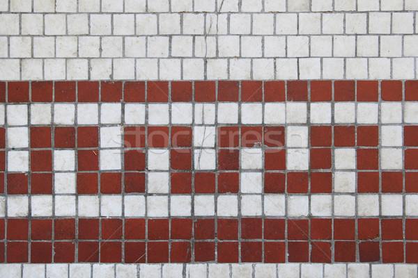 cracked tile design Stock photo © pancaketom