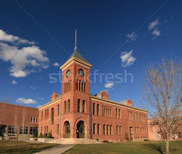 old Flagstaff Courthouse Stock photo © pancaketom