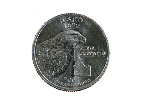 isolated Idaho quarter Stock photo © pancaketom