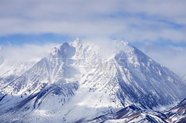 Stock photo: Cloudy Basin Mountain