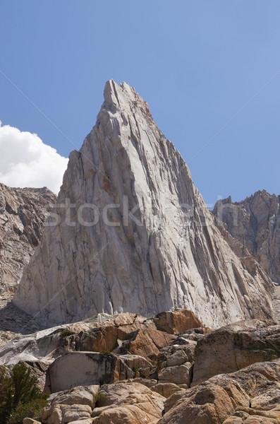 信じられない 岩 山 岩石層 ネバダ州 山 ストックフォト © pancaketom