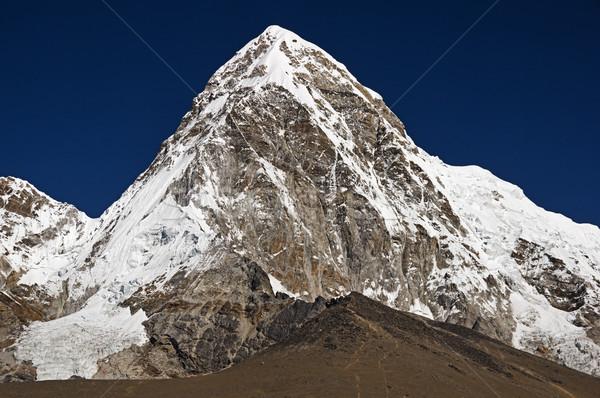 Dağlar dağ everest bölge altında Stok fotoğraf © pancaketom
