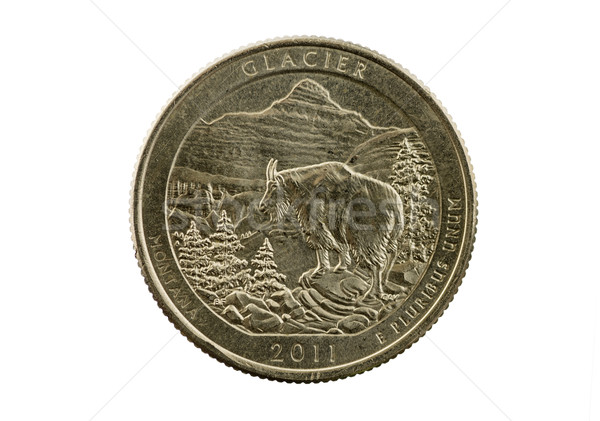 Glacier National Park Quarter Stock photo © pancaketom
