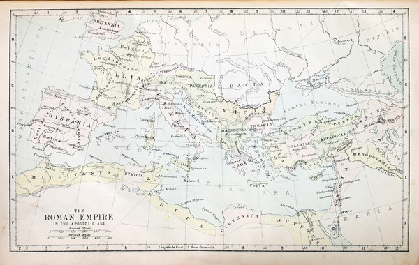 Roman Empire Map Stock photo © pancaketom