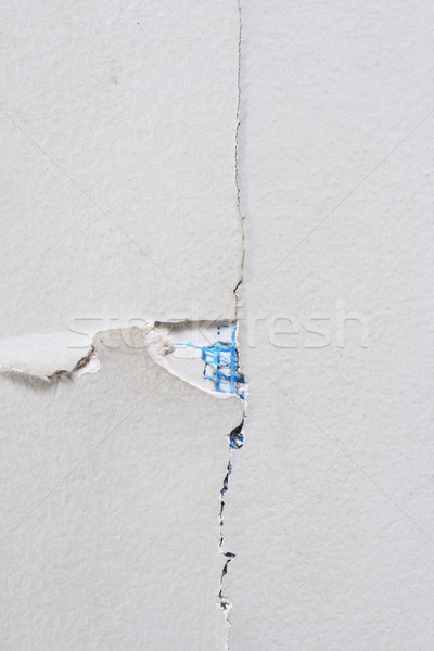 cracked wall close up Stock photo © pancaketom