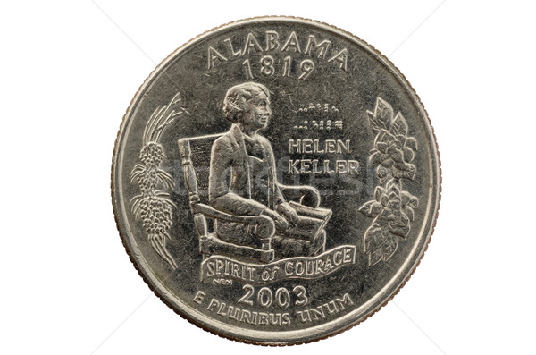 Alabama State Quarter Coin Stock photo © pancaketom