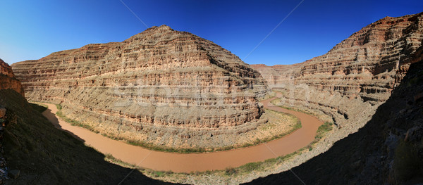 San Juan River panorama Stock photo © pancaketom