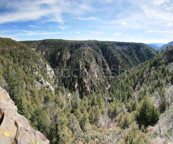 Oak Creek overlook  Stock photo © pancaketom