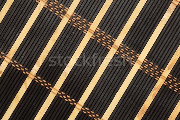 black and tan mat Stock photo © pancaketom