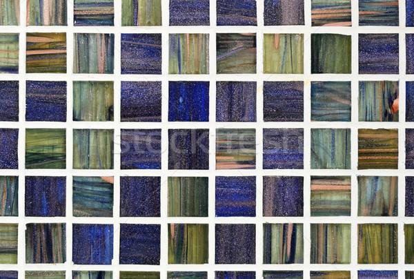 glass tile background Stock photo © pancaketom