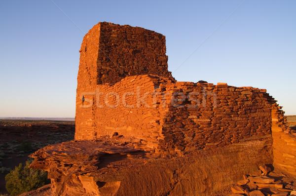 Wukoki Ruins Stock photo © pancaketom