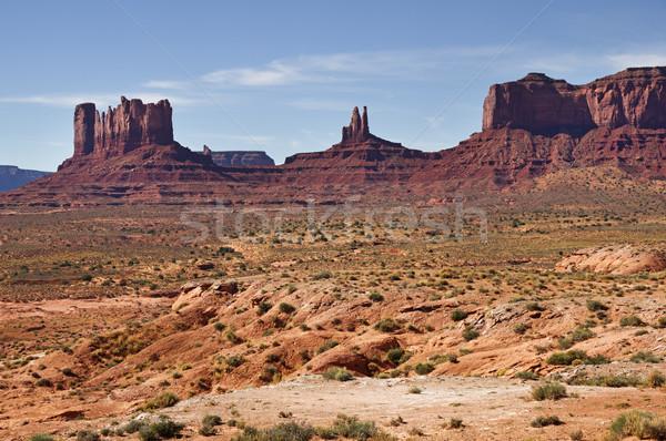 谷 コーナー アリゾナ州 砂漠 石 ストックフォト © pancaketom