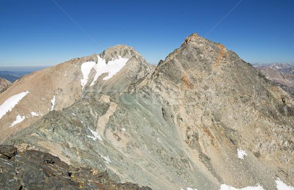 Szczyt Nevada góry California Zdjęcia stock © pancaketom