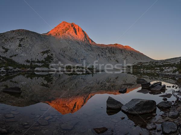 Mountain Light Reflection Stock photo © pancaketom