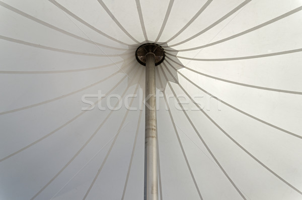 White Tent Canopy Stock photo © pancaketom