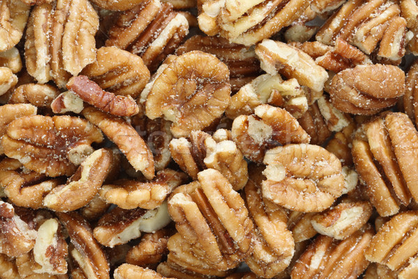 roasted salted pecans Stock photo © pancaketom