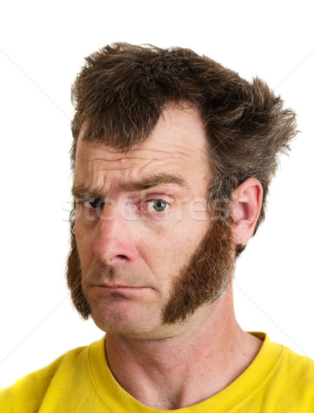 Man With Sideburns Stock photo © pancaketom