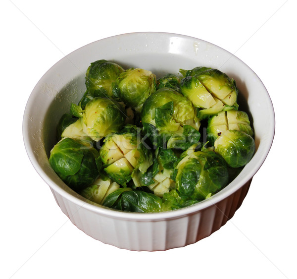 bowl of brussels sprouts Stock photo © pancaketom