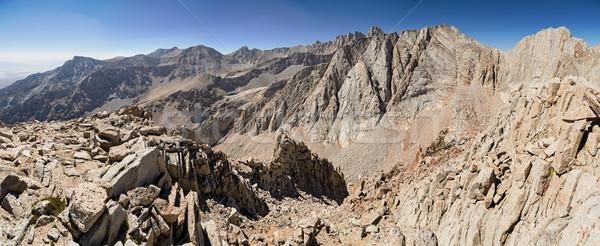 High Sierra Panorama Stock photo © pancaketom