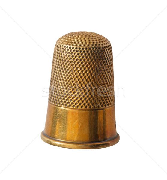 Brass Thimble Stock photo © pancaketom