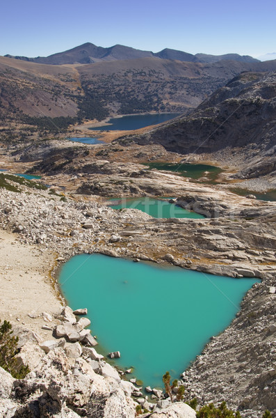 Glacial Lakes Stock photo © pancaketom