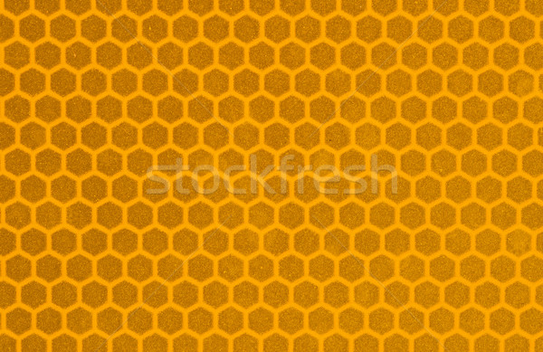 Yellow Reflective Sign Surface Stock photo © pancaketom