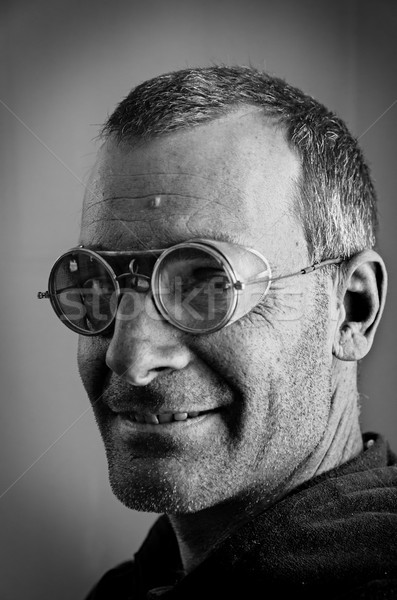 Steampunk Man Stock photo © pancaketom