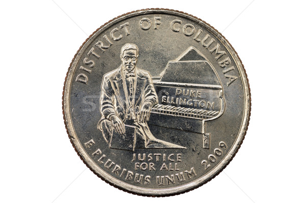 District of Columbia Quarter Stock photo © pancaketom
