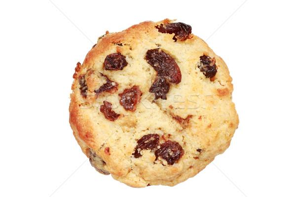 レーズン スコーン 焼いた 孤立した 白 食品 ストックフォト © pancaketom